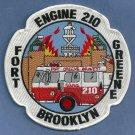 Brooklyn New York Engine Company 210 Fire Patch