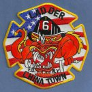 Manhattan New York Ladder Company 6 Fire Patch