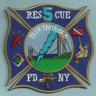 Staten Island New York Rescue Company 5 Fire Patch
