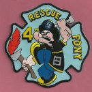 Queens New York Rescue Company 4 Fire Patch