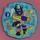 Bronx-Harlem New York Rescue Company 3 Fire Patch