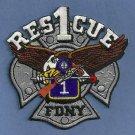 Manhattan New York Rescue Company 1 Fire Patch