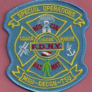 New York Fire Department Special Operations Command Patch