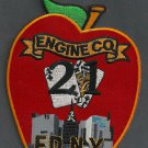 Manhattan New York Engine Company 21 Fire Patch