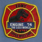 Bronx New York Engine Company 74 Fire Patch