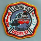 Staten Island New York Engine 167 Ladder 87 Company Fire Patch