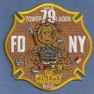 Staten Island New York Ladder Company 79 Fire Patch