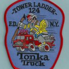 Brooklyn New York Ladder Company 124 Fire Patch