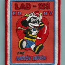 Queens New York Ladder Company 129 Fire Patch