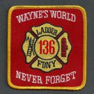 Queens New York Ladder Company 136 Fire Patch