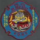 Brooklyn New York Engine 235 Battalion 57 Company Fire Patch
