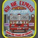 Brooklyn New York Engine Company 239 Fire Patch