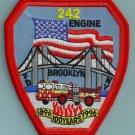 Brooklyn New York Engine Company 242 Fire Patch