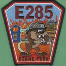 Queens New York Engine Company 285 Fire Patch