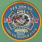 Bronx New York EMS Battalion 26 Fire Patch