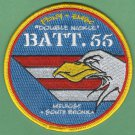 Bronx New York EMS Battalion 55 Fire Patch