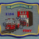 Staten Island New York Engine Company 156 Fire Patch