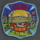 Queens New York Engine Company 329 Fire Patch