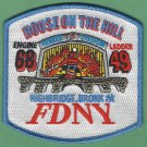 Bronx New York Engine 68 Ladder 49 Company Fire Patch