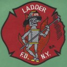 Brooklyn New York Ladder Company 176 Fire Patch