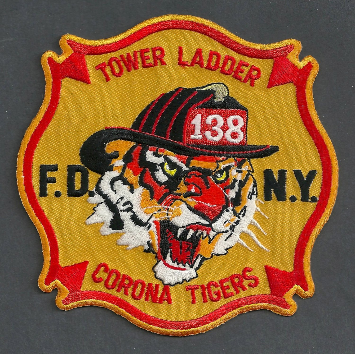 Queens New York Ladder Company 138 Fire Patch