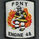 Bronx New York Engine Company 48 Fire Patch