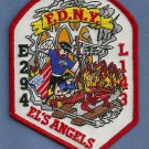 Queens New York Engine 294 Ladder 143 Fire Company Patch