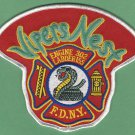 Queens New York Engine 302 Ladder 155 Fire Company Patch
