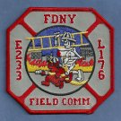 Brooklyn New York Engine 233 Ladder 176 Fire Company Patch