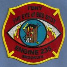 Brooklyn New York Engine Company 235 Fire Patch