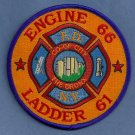 Bronx New York Engine 66 Ladder 61 Fire Company Patch