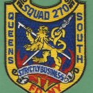 Queens New York Squad Company 270 Fire Patch