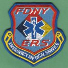 New York EMS Special Response Squad Fire Patch