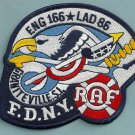 Staten Island New York Engine 166 Ladder 86  Company Fire Patch
