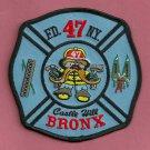 Manhattan New York Ladder Company 47 Fire Patch