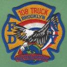 Brooklyn New York Ladder Company 108 Fire Patch