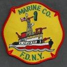 Manhattan New York Fire Boat 1 Fire Patch