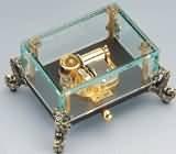 glass music box