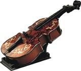 Wooden music violin