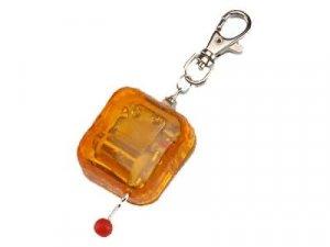 Plastic key ring