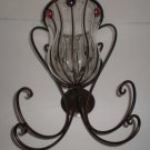 Wrought Iron Indoor / Outdoor Wall Sconce