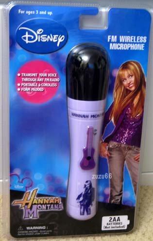 Disney Hannah Montana FM Wireless Microphone