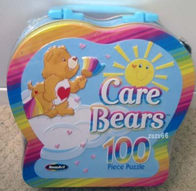 Care Bears 100 Piece Puzzle in Collectible Carry Tin