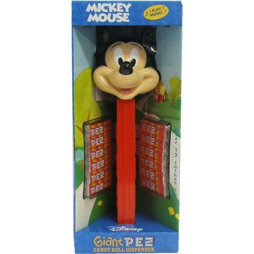 Disney GIANT MUSICAL Pez Dispenser - MICKEY MOUSE