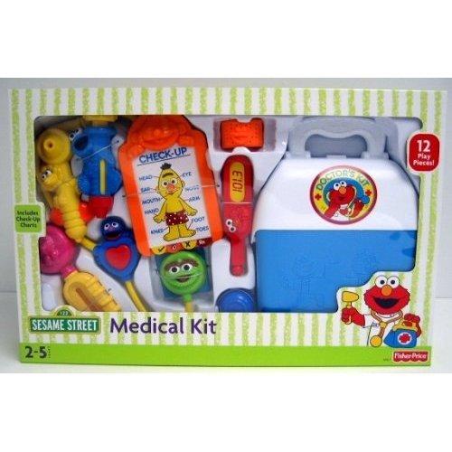 Fisher Price Sesame Street Medical Kit Playset w/Elmo & Friends