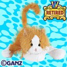 Webkinz RETIRED Gold and White Cat Orange New with Sealed Tag