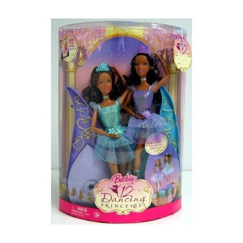 Barbie in the 12 Dancing Princesses Isla and Hadley Dolls African American/Ethnic Twins