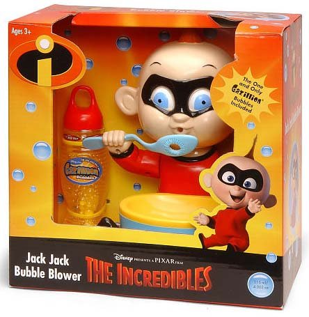 Disney The Incredibles Jack Jack Motorized Gazillion Bubbles Blower