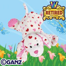Webkinz RETIRED Valentine's Day LOVE PUPPY New w/Sealed Tag