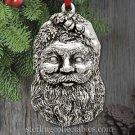 2015 Carolyn Kemp Dreams of Santa Sterling Ornament NIB